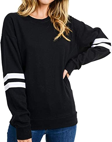 UK Femmes Hiver patchwor Pullover Pull Femmes Pull à manches longues Tops