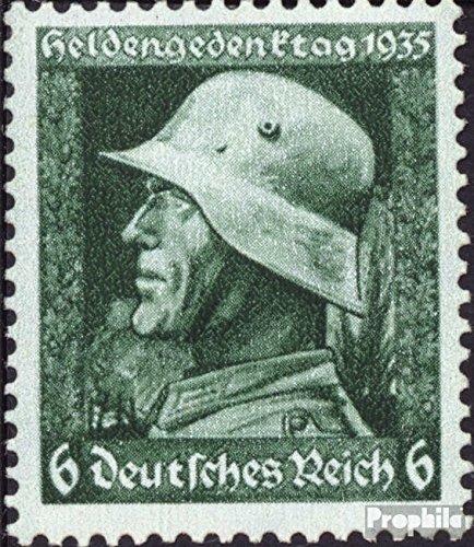 Prophila Collection Deutsches Reich 569x-570x (kompl.Ausg.), senkrechte Riffelung 1935 Heldengedenktag (Briefmarken für Sammler) Militär