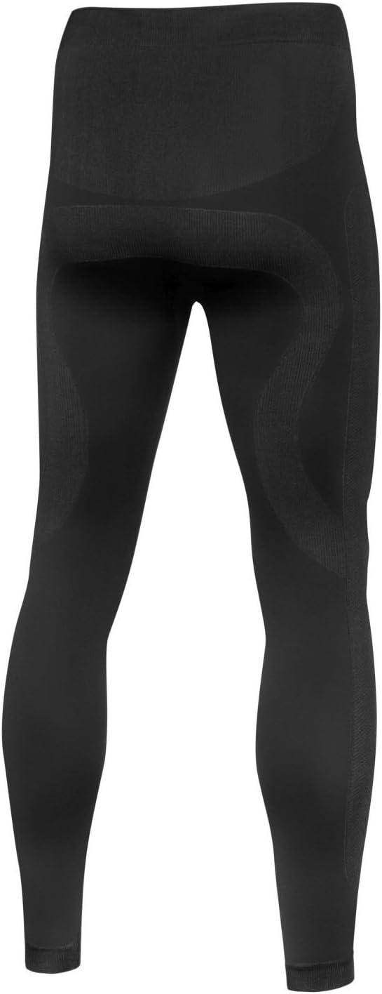 colore nero o grigio grafite per uomo Set di biancheria intima da sci//motociclismo Nordcamp termoattivo e traspirante