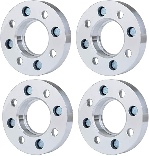 SCITOO 1 inch Wheel Spacers 4 Lugs 4X 1 25mm Thick 4x110mm 10x1.25 Studs centerbore fit Suzuki Eiger King