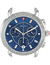 Women's 'Sidney Head' Swiss Quartz Stainless Steel Casual Watch, Color:Silver-Toned (Model: MW30A01A1956)