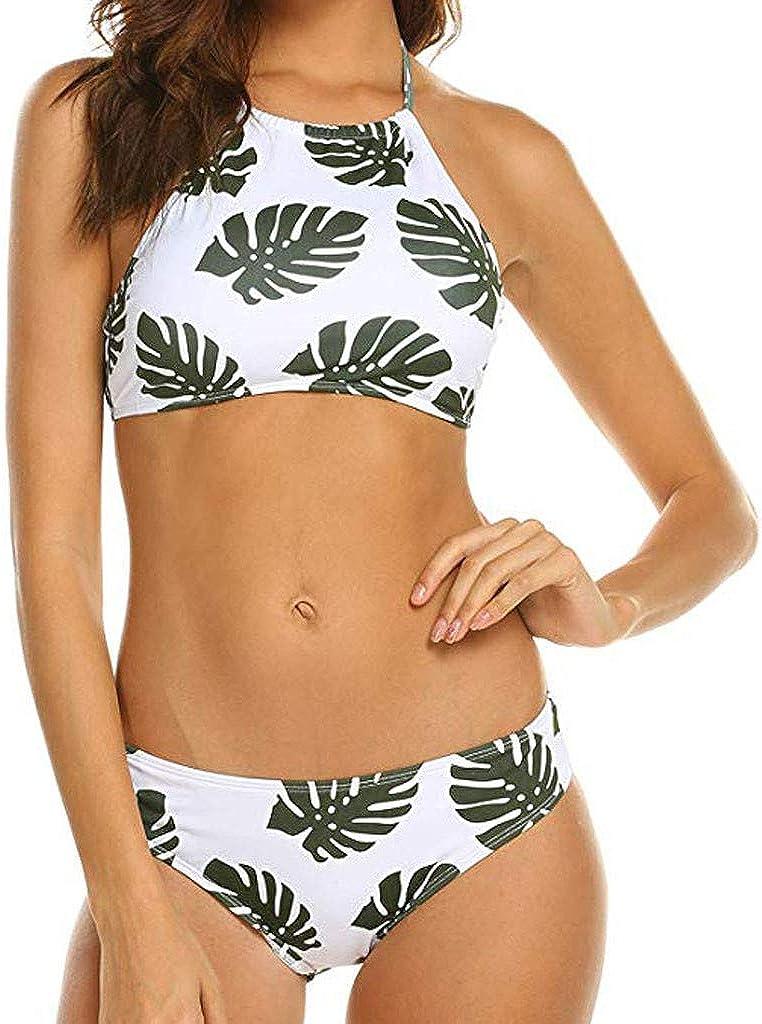2019 Cintura Alta Sexy Floral Impresas Push Up Vintage Talle Alto Conjunto de Baño Bikini para Mujer Bañadores Verano Pantalones Cortos para Hombre Fitness Culturismo Bañador Hombre Playa Natación: Amazon.es: Ropa y