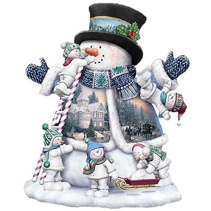 Christmas 5d Diamond Paintinglelili Xmas Snowman Santa Claus Cross Embroidery