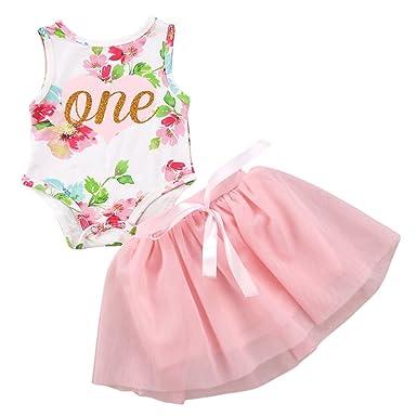 b68b795d7e54 Amazon.com  Toddler Baby Girls Princess 1st Birthday Cake Smash ...