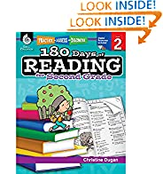 #5: 180 Days of Reading for Second Grade (Ages 6-8) Easy-to-Use 2nd Grade Workbook to Improve Reading Comprehension Quickly, Fun Daily Phonics Practice for 2nd Grade Reading (180 Days of Practice)