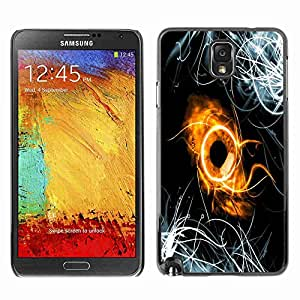 Planetar® ( Abstract Ring ) Fundas Cover Cubre Hard Case Cover Samsung Galaxy Note 3 III / N9000 / N9005