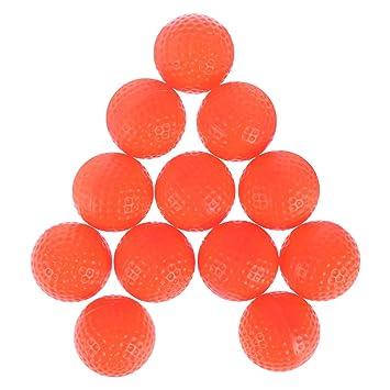 LIOOBO 12pcs Pelotas de Golf - Deportes PU Espuma Pelota de Golf ...