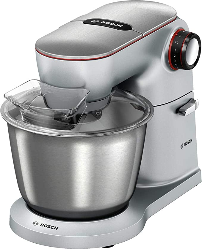 Bosch MUM9Y43S00 1300W 5.5L Acero inoxidable - Robot de cocina (5,5 L, Acero inoxidable, Giratorio, Aluminio, 1300 W, 220/240): Amazon.es: Hogar