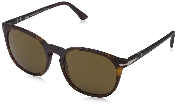 d2883d32f3 Persol Men s 0PO3007S Matte Havana Polar Brown Sunglasses  Persol ...