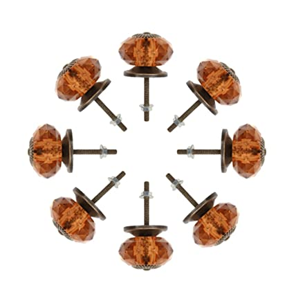 Noniu Cabinet Knobs With 40mm Pulls Handles For Kitchen Drawer Cupboard Knob 8 Pack