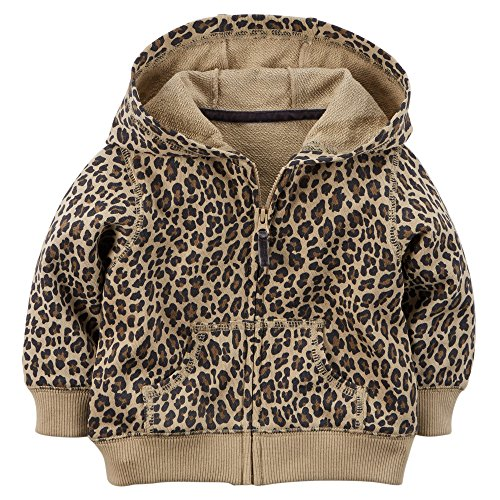 Girls Terry Hooded Jacket - 9