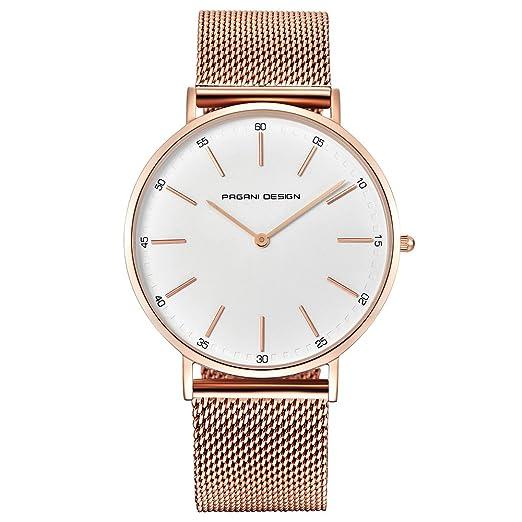 c9195fdd55f1 Reloj para Mujer Pagani Design con Cristal De Cuarzo - Reloj para Mujer a  Prueba De