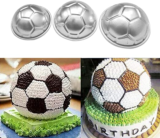 Moldes para hornear, aleación de aluminio con forma de balón de ...