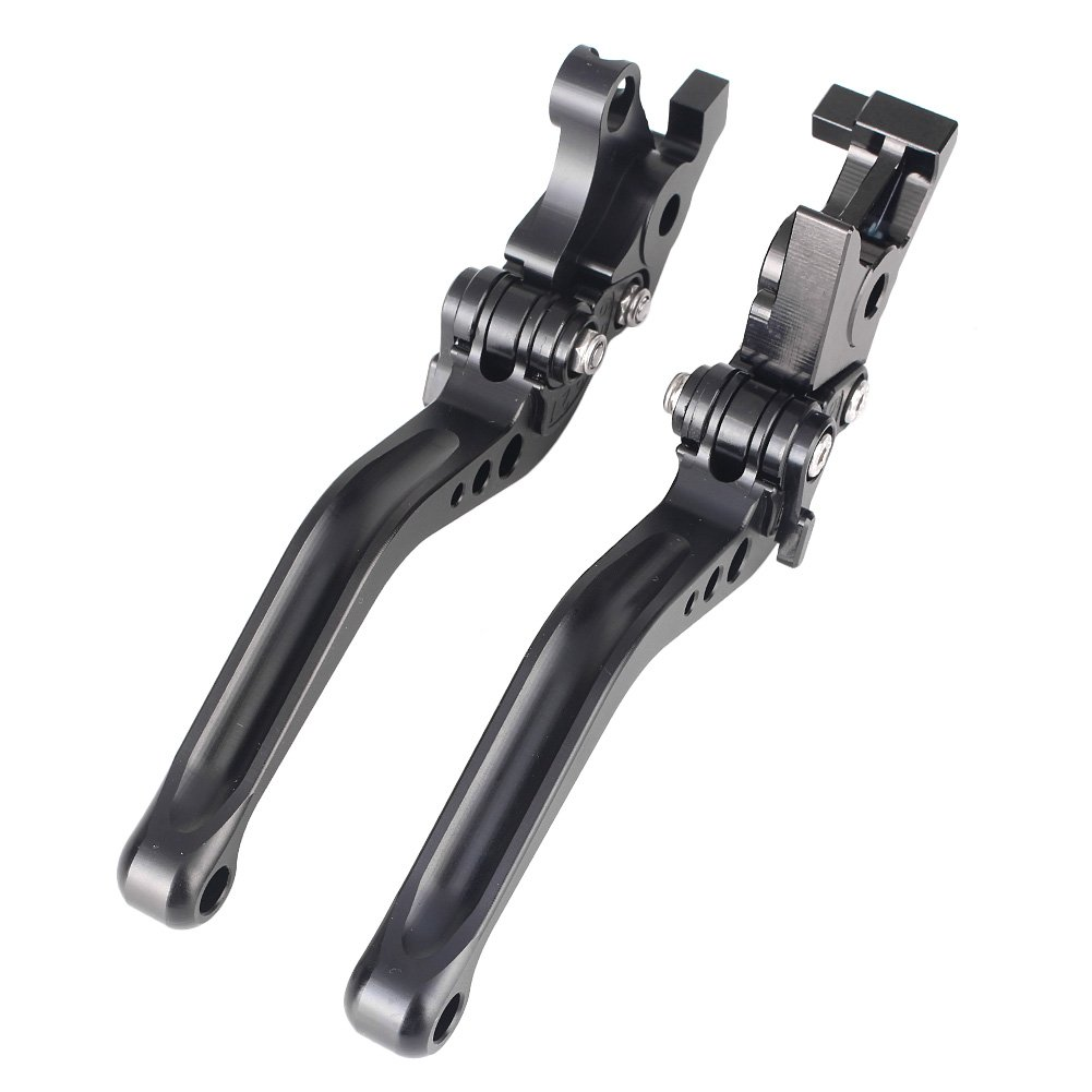 GZYF Pair Adjustable Motorcycle Short Brake Clutch Levers Set fit Suzuki 1999-2007 HAYABUSA GSX1300R & 1998-2003 TL1000R & GSX1400 2001-2007 & SV1000/S 2003-2010 by GZYF (Image #8)