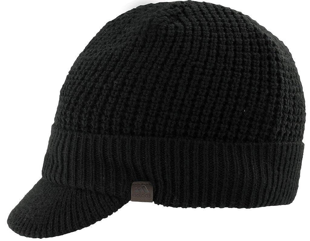 f6baf4c9 Amazon.com: adidas Men's Griggs Brimmer Beanie, Black, One Size: Clothing