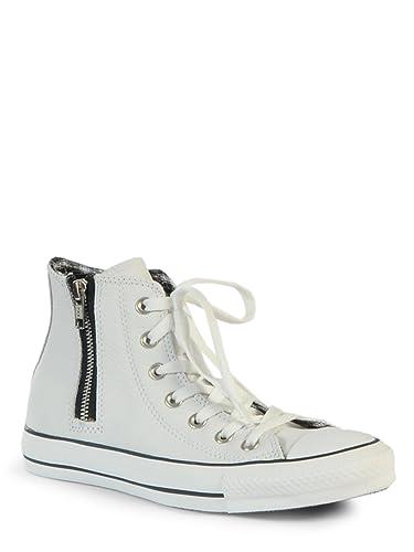 converse blanche cuir 38