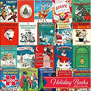 Re-marks Holiday Books 1000 Piece Puzzle