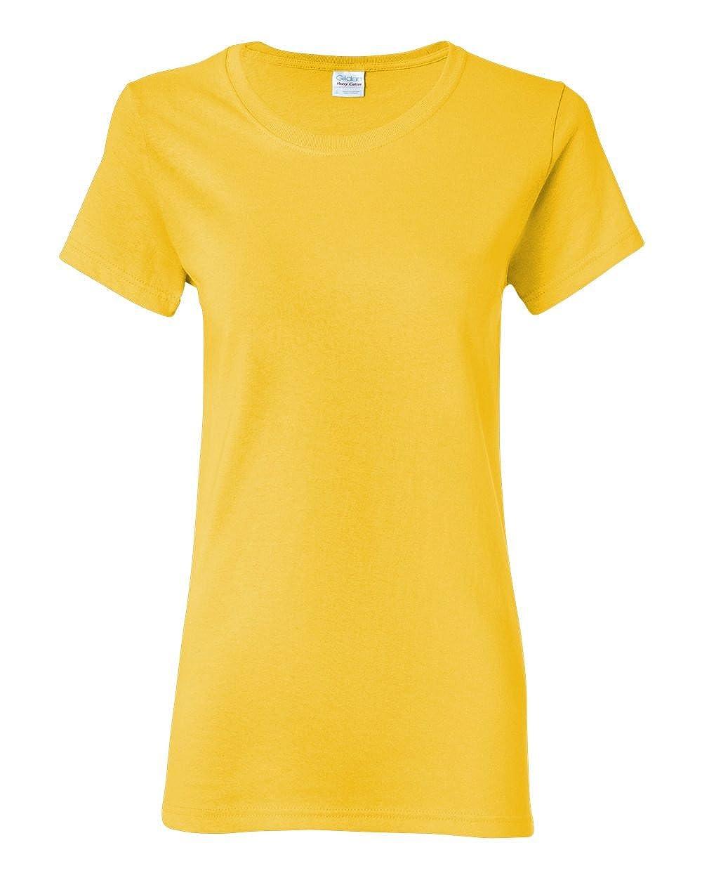 Daisy Gildan Womens 5.3 oz. Heavy Cotton Missy Fit TShirt G500L (Pack of 12)