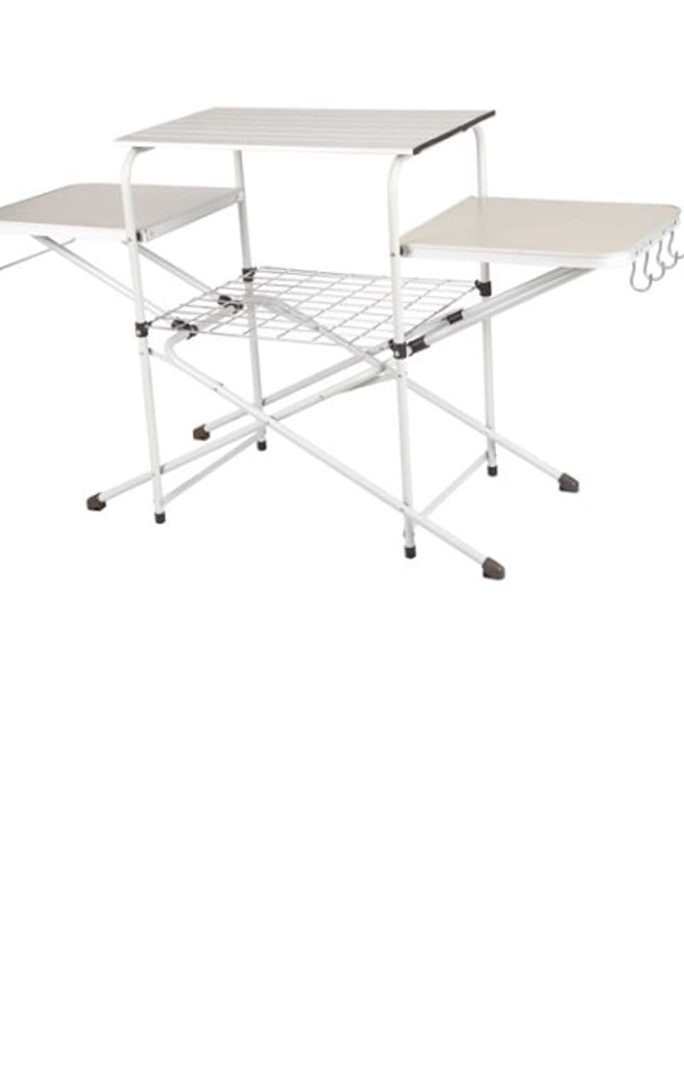 Amazon.com : Camping Outdoor Use Kitchen Cooking Stand, White ...