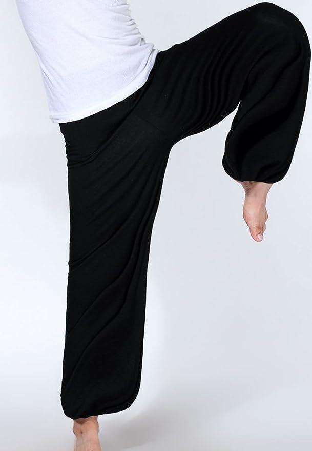 WOOD MEETS COLOR Yoga Pantalones Sterne Sport Pantalones Pantalones Largos de Dormir Dormir modaler Suave Pijama de Punto