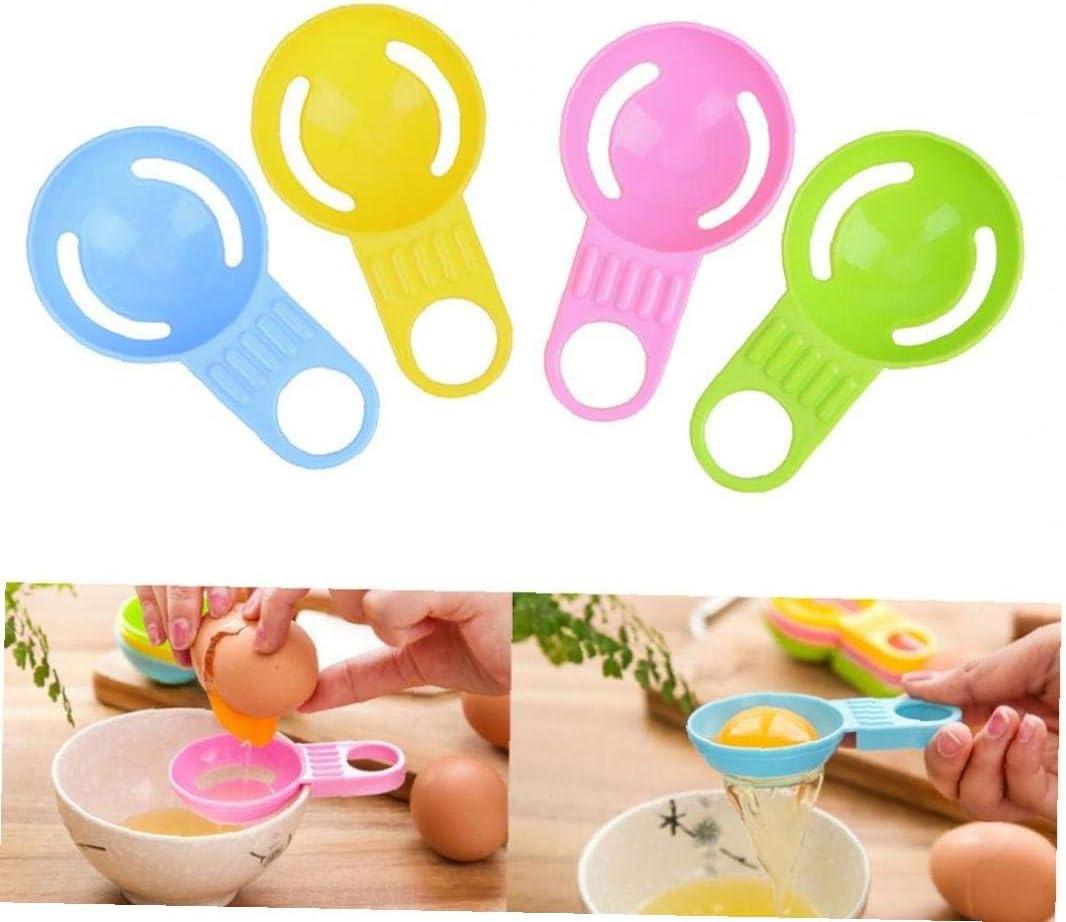 Oulensy Eigelb Wei/ß Separator Kochwerkzeug Lebensmittelqualit/ät Kunststoff Egg Divider K/üchenzubeh/ör Egg Separator