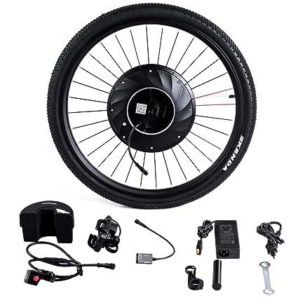 Amazon.com: Gymax - Rueda delantera para bicicleta, 26 ...