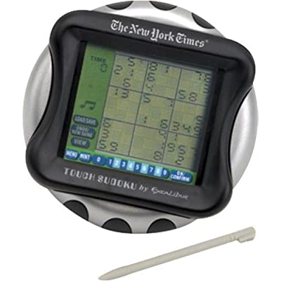 Excalibur Electronic NY53CS New York Times Touch Screen Sudoku Game: Toys & Games