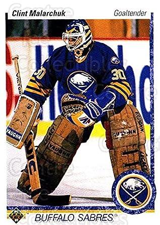 Amazon Com Ci Clint Malarchuk Hockey Card 1990 91 Upper Deck