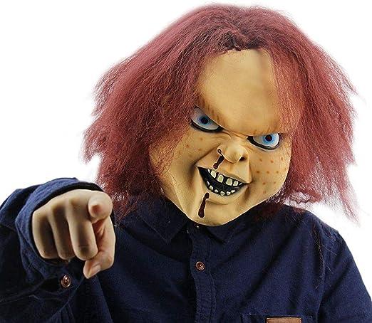 NUWIND - Máscara de Látex Muñeco Diabólico Chucky Doll Killer Mask ...