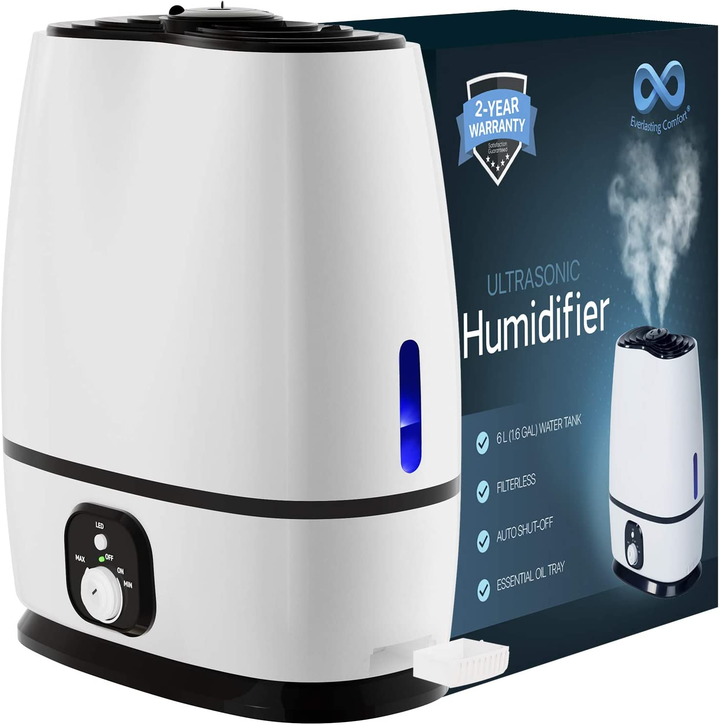 Cool Mist Humidifier Everlasting Comfort