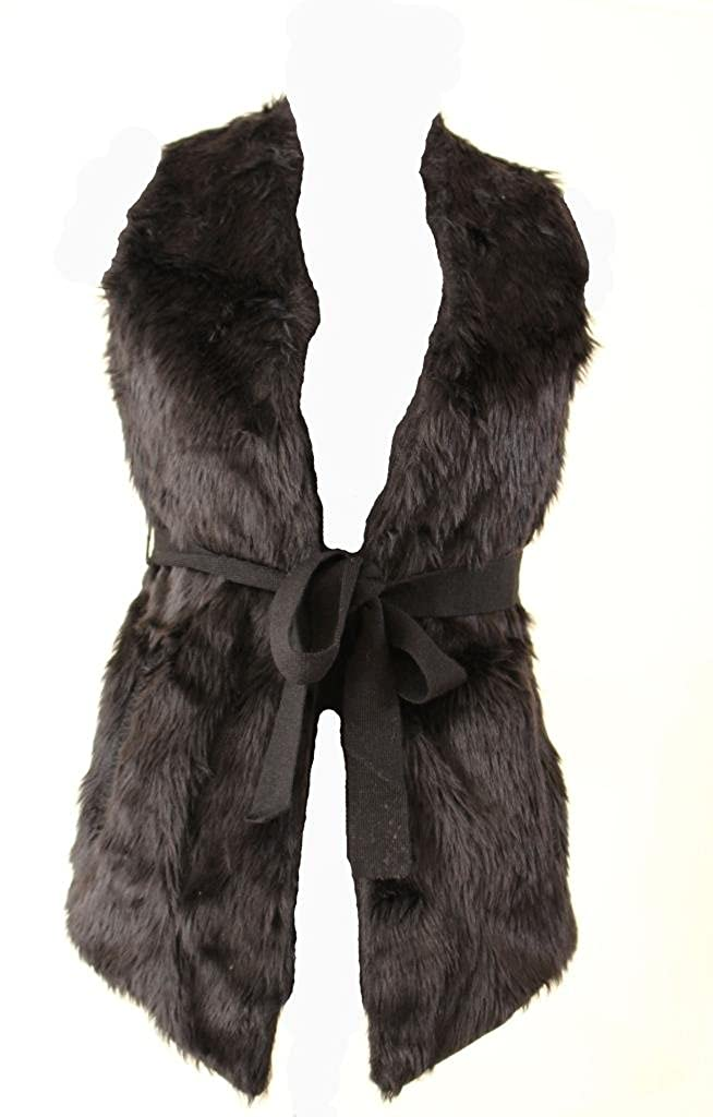 Spicy Sugar Women's Flur Vest With Belt HW31129