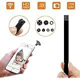 1080P Wifi P2P 超小型高画質スパイ隠しカメラ 防犯監視カメラ 動体検知 長時間録画iPad/iPhone / Android4画面対応 日本語取扱