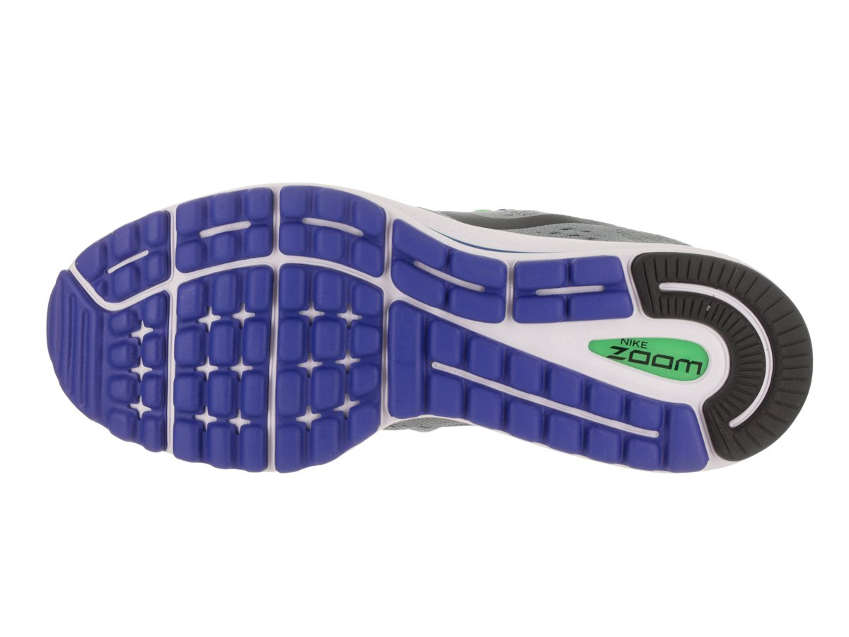 NIKE Men's Air Zoom Vomero 12 Running Shoe B06VTS6YT8 10 D(M) US|Stealth/Blue Fox/Electro Green