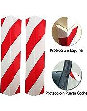 LETACAR Paragolpes Protector, 40 * 15 cm Protector Columnas Garaje, Protección para Parachoques de