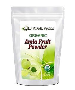Organic Amla Fruit Powder (Amalaki or Indian Gooseberry) - Support Healthy Digestion - Amazing Superfood Rich In Antioxidants - Grown In India - Raw, Vegan, Non GMO, Gluten Free - 1 lb