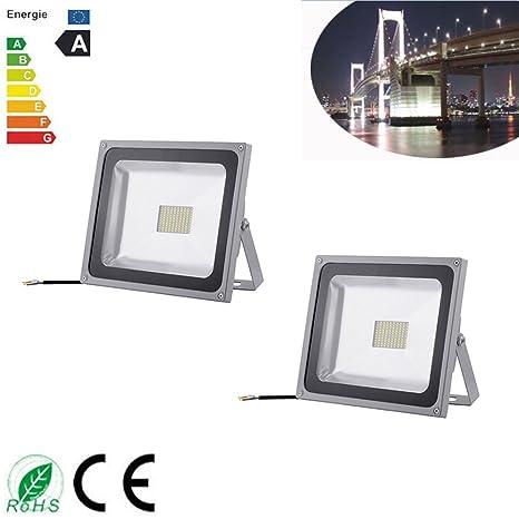2 x 80 W super brillante iluminación SMD exterior Foco LED ...