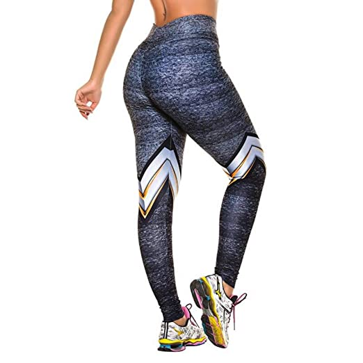 2cfff84083 GreatGiftList Yoga Pants, Women's Workout Leggings Fitness Sports Gym  Running Yoga Athletic Capris Pants Leggings at Amazon Women's Clothing  store: