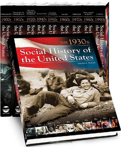 Social History of the United States (10 Vol. Set )