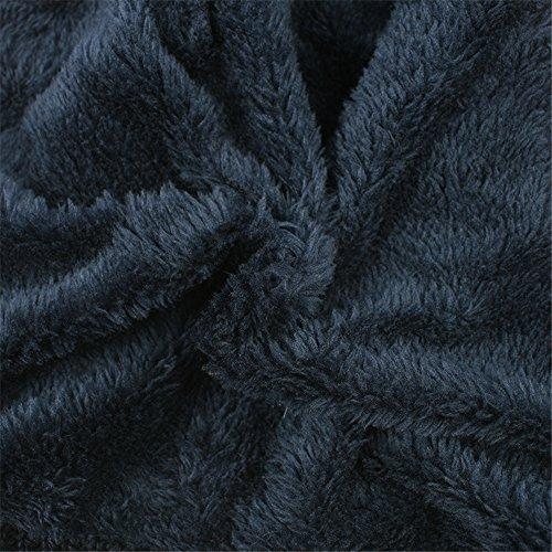 pescados tejida Las gorrita del del de de rayas escala BaronHong de Skully la unisex casquillo la calientan de Slouchy terciopelo Sombrero gris de WrXSPrF
