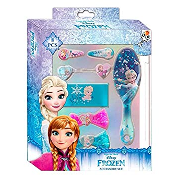 Disney Frozen Set de 8 Accesorios para El Pelo Kids WDFR181: Amazon.es: Juguetes y juegos