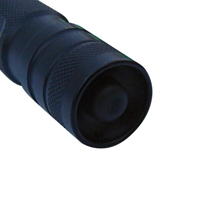 Dorcy 41-4255 Focusing LED Flashlight with Optic Lens, 45-Lumens, Black Finish - Basic Handheld Flashlights - Amazon.com