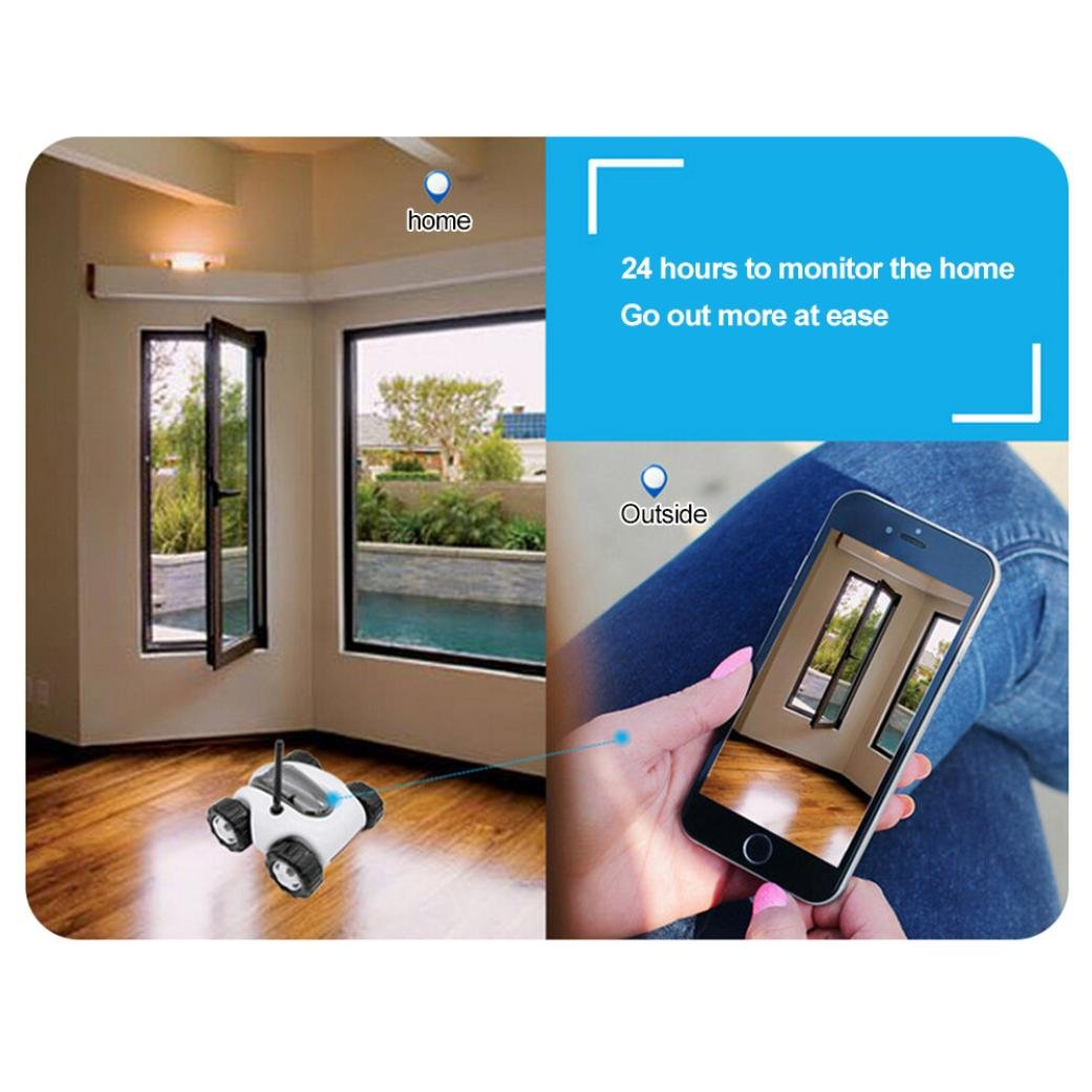 Vibola Remote Control Car Wireless remote control car camera that movement parent-child intelligent (white -O) by Vibola® (Image #4)