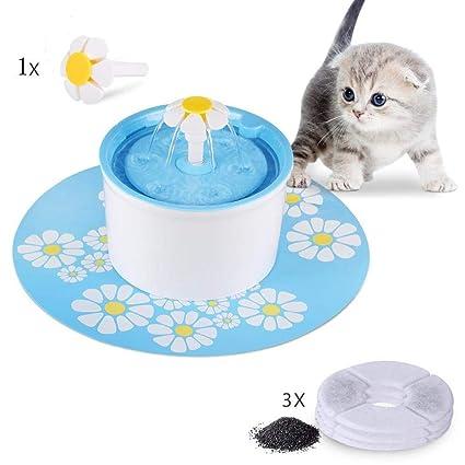 KKLTE Dispensador De Agua para Mascotas - Dispensador De Agua para Gatos Y Perros, Dispensador