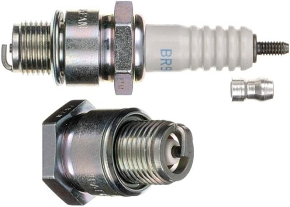 NGK BR9HS - Bujía (Grupo B, Ancho de Llave 20,8 mm), Color ...