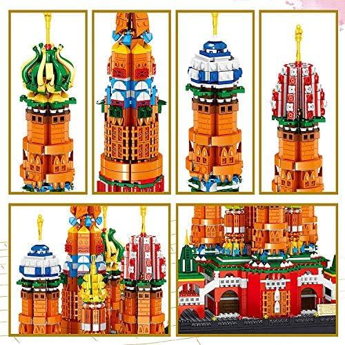 Saint Basil's Cathedral Building Model Set, 2894PCS Micro Korrel Mini Building Blocks, 3D Puzzle Model Child Bouw Educatief Speelgoed, Voor Kinderen Gift