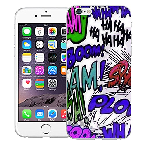 "Mobile Case Mate iPhone 6S 4.7"" Silicone Coque couverture case cover Pare-chocs + STYLET - Cartoon pattern (SILICON)"