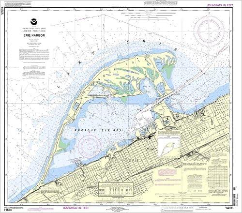 Erie Harbor NOAA Chart 14835