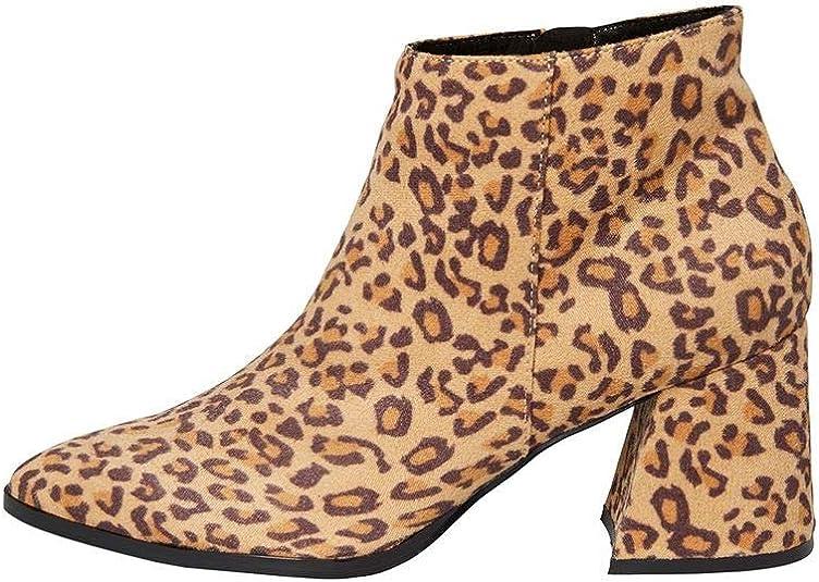 leopard print shoe boots uk
