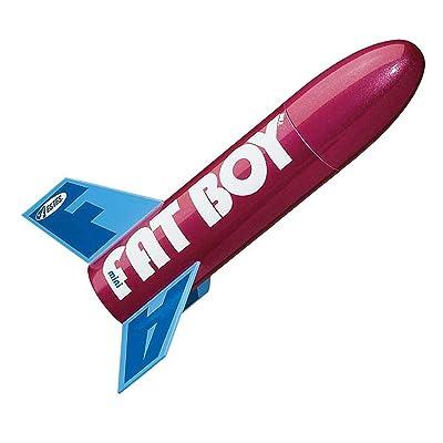 Estes Mini Fat Boy Model Rocket Kit: Toys & Games