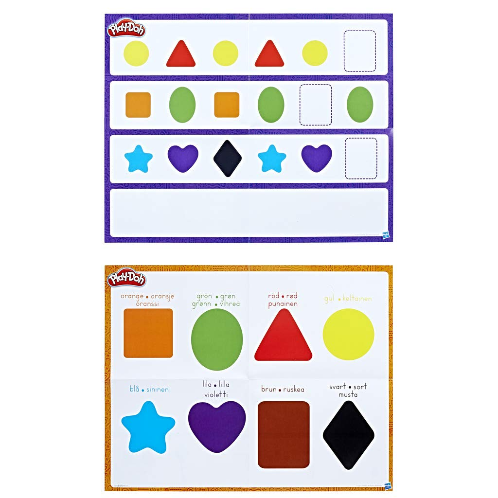 Play-Doh/ Hasbro b3404105 /Teaches Colors and Shapes